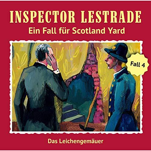 Das Leichengemäuer     Inspector Lestrade: Ein Fall für Scotland Yard 4              Autor:                                                                                                                                 Andreas Masuth                               Sprecher:                                                                                                                                 Lutz Harder,                                                                                        Michael Pink,                                                                                        Bodo Wolf,                   und andere                 Spieldauer: 1 Std. und 3 Min.     48 Bewertungen     Gesamt 4,7
