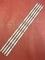 Strip For 4 PCS LED backlight strip For UE32H5500 UE32H6800 UE32J5600 BN96-30443A 30442A