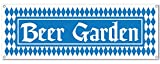 Beistle 57663Beer Garden Sign Banner, 5-Feet da 53,3cm