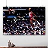 mohanshop Rahmenlose Malerei Basketball Poster Michael