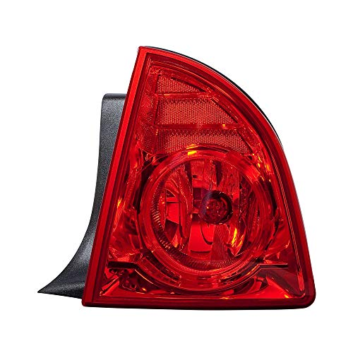 Epic Lighting OE Fitment Replacement Rear Brake Tail Light Assembly Compatible with 2008-2012 Chevrolet Malibu Malibu Hybrid [GM2801224 25879097] Right Passenger Side RH