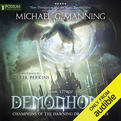 Demonhome audiobook cover art