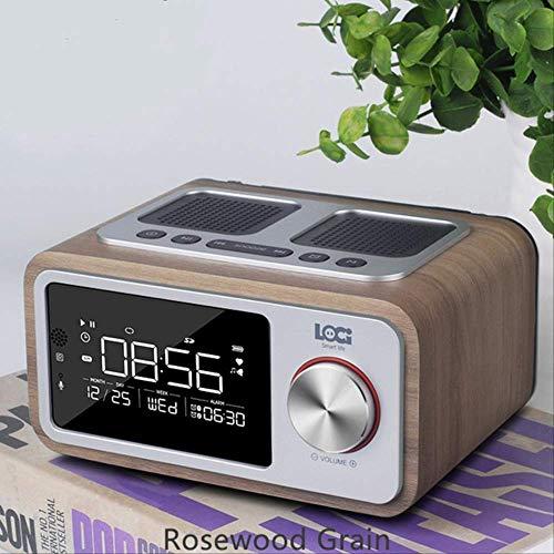 Mirage Altavoz Bluetooth inalámbrico portátil pequeño Bosque 6W Inicio Pantalla LED de...