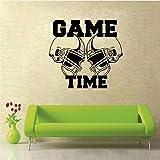 Lbonb Temps De Jeu Rugby Hat Stickers Muraux Pour Enfants Chambres Décoration Cartoon Stickers Muraux Vinyle Art Mural