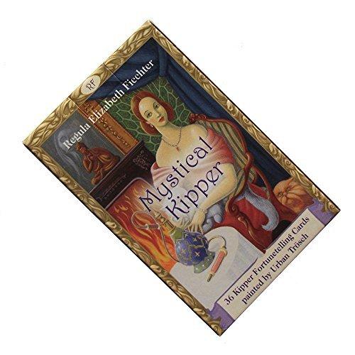 Green Cross Toad Mystical Kipper Cartes de Voyance par Urban Trösch, 36 Cartes de Divination avec Instructions en Anglais