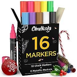 Chalk Marker Pen Gold Silver Pink White Glass Marker Blackboard Marker Pen