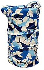 LPG Apparel Co. Fishing Themed Camouflage Gaiter Fishing UPF 30+ Moisture Wicking Dri-Fit Seamless Bandana Sun Protection Face Mask One Size Fits Most! Camouflage Edition Fishing Themed gaiters 100% Performance Polyester, makes the perfect facial sun...
