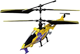 Hover Champs YW858513 Tornado 3 Channel Remote Controlled Helicopter, Yellow/Black