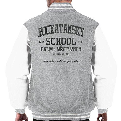 Cloud City 7 Mad Max Rocktansky School of Calm Men's Varsity Jacket