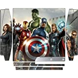 Comic Book Hero Vinyl Decal Sticker Skin by Compass Litho for Playstation 3 & PS3 Slim