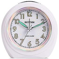 LBWNB Home Décor Silent Anti-Sleepy Student Bedside Clock Children's Cartoon Creative Clock Import Quality Silent Energy Saving and Environmental Protection Clocks