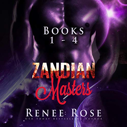 Zandian Masters, Books 1-4 cover art