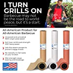 Kraft Butcher Paper roll - Long 24 inch x 175 feet (2100 inch) - Great Smoking Wrapping Paper for Meat of All Varieties… 3