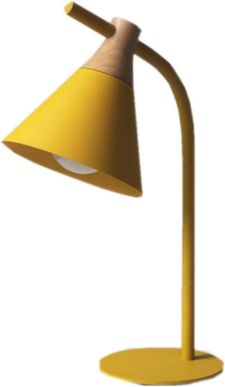 Kreative Schmiedeeisen Tischlampe postmodernen Studie Schlafzimmer führte Nachttischlampe 52cm hoch