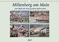 Miltenberg am Main eine Stadt die man gesehen haben muss (Wandkalender 2022 DIN A4 quer): Wow, eine tolle Stadt mit toller Altstadt. (Monatskalender, 14 Seiten )