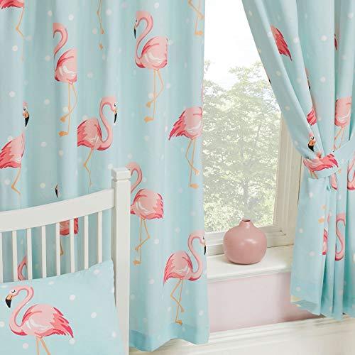 Pricerighthome Fifi Flamingo Lined Vorhänge 66