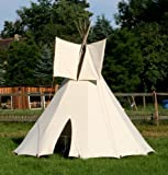 [page_title]-3m großes Tipi Indianertipi Indianerzelt Wigwam Zelt