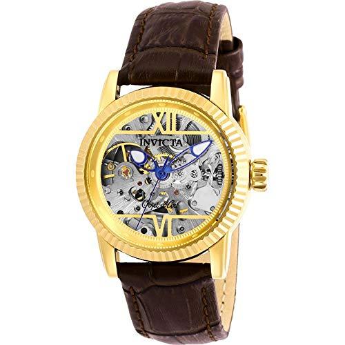 Invicta Objet D Art 26348 - Reloj automático para Mujer (Esfera Dorada)