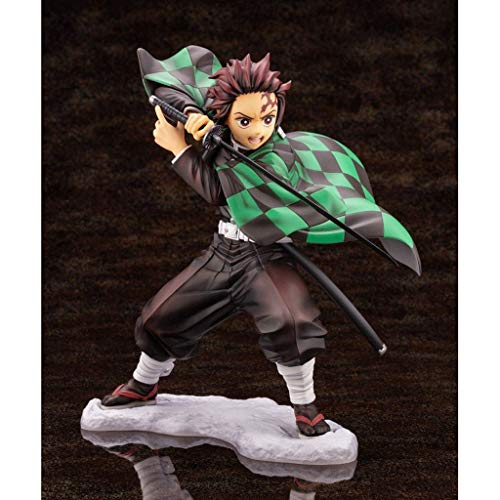 LIKEFLY Demon Slayer:Artfx J Kamado Tanjirou Original PVC Figures Statue from Anime Cartoon Gifts Collection Model Toy Masterpiece Figure 15cm anmie image