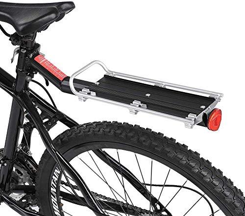 VGEBY bagagedrager voor fiets, aluminiumlegering, voor racefiets, mountainbike
