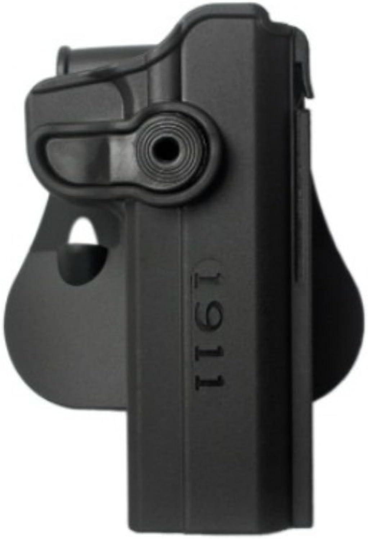 Concealed Carry Hand Gun Polymer Retention redo Holster for 1911 Variants w wo rails, 5  Black IMI RSR Defence Gun   Pistol Holster