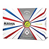 Callaway Golf Supersoft Magna Golf Balls, (One Dozen), Yellow, Prior Generation