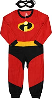 Pixar Incredibles 2 Unisex Kids Union Suit Pajama with Mask (4/5)