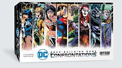 Cryptozoic Entertainment DC Deck-Building Game: Confrontations