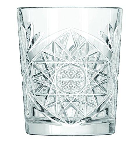 12 x whiskey glasses, tumbler, glass, 350 ml, diameter 9 cm, height 10.5 cm