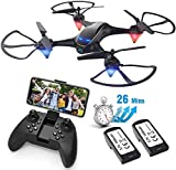 Drones with Camera for Adults Long Flight Time, E38 EACHINE WiFi FPV Quadcopter