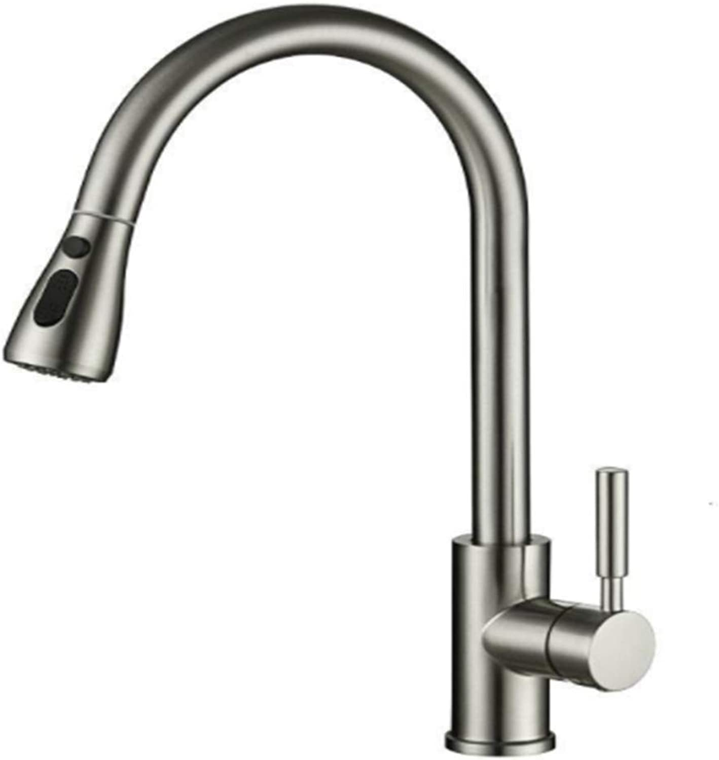 Kitchen Taps Faucetmodern Kitchen Sink Tapsstainless Steelthe Kitchen is Cold and Hot, The Modern Washing Basin, The Universal Faucet and The Washing Basin are All Directions.