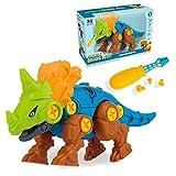 davidamy s gift Dinosaur Toys, Take Apart Building Play Set, Action Figures, Fun Construction Engineering Play Kit (Centrosaurus)