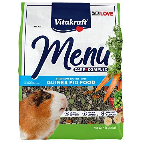 Vitakraft Menu Vitamin Fortified Guinea Pig Food, 5 Lb.