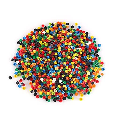 SENG Mosaik Puzzle Bausteine Spielzeug, 2000 STK Mosaik Steckspiel Pädagogische Lernspielzeug für Kinder und Erwachsene