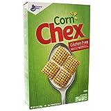 Maíz Chex sin gluten horno tostado cereales de maíz 340 g 12 oz (paquete de 4)