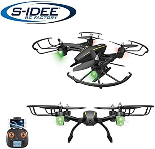 s-idee 7105 S373 WiFi Drohne HD Kamera FPV Rc Quadrocopter H nstabilisierung One Key Return Coming Home VR Drohne Flip Funktion 2.4 GHz mit