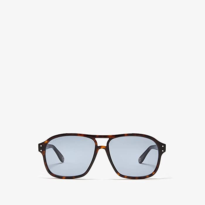 Gucci  GG0475S (Avana) Fashion Sunglasses