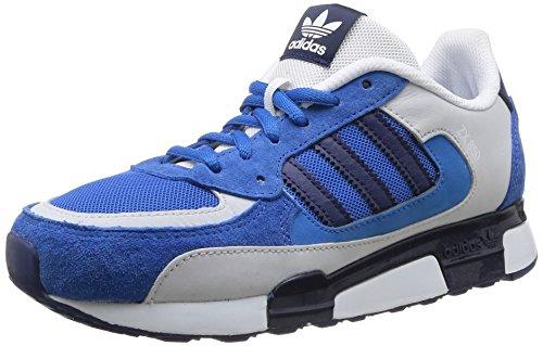 adidas ZX 850 K, Baskets pour Femme Bleu/Gris 36.5 - Multicolore - Blubir/Dkblue/Clgrey, 36 2/3 EU