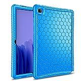 Fintie Schutzhülle für Samsung Galaxy Tab A7 10.4 2020 Modell (SM-T500/T505/T507), Honey Comb Serie Kinderfre&lich, leicht, stoßfest, Blau