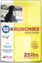 Kent Nutrition Blue Seal Krunchies Adult Dog Food 25 Lbs. No Soy, No Artificial Colors or Preservatives, Nutritionally Complete with Added Vitamins and Minerals
