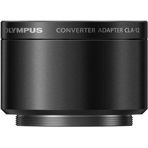 Olympus Objektiv Adapter cla-12Für XZ-1und XZ-2(schwarz)