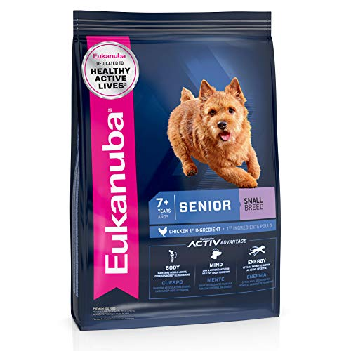 Eukanuba Senior Small Breed Dry Dog Food, 15 lb. bag