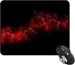 Black Background Red Color Paint Explosion Burst Red Black Mouse Pad Rectangle 240x200x3mm At Colored Cases Store