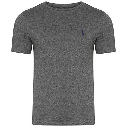 T-Shirt Ralph Lauren T-Shirt manica corta su misura girocollo, S-M-L-XL-XXL Outlet Taglia S