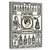 Forwall Leinwandbild Canvas Perfums Parfüm – Paris