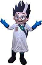 Romeo Scientist PJ Mask Character Mascot Costume Cosplay Nude