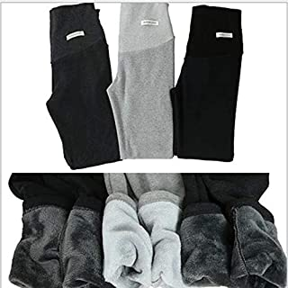 Hylong Autumn Winter Maternity Pants for Pregnant Women Maternity Clothes Thick Pregnancy Pants Maternity Clothing (Black,XL)