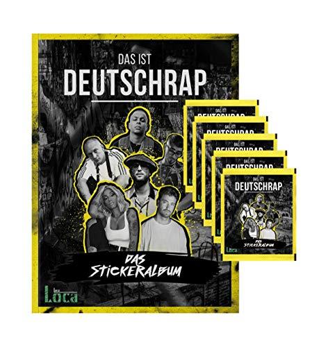 Das ist Deutschrap - 2019 - 1 Album + 5 Tüten (25 Sammel Sticker)