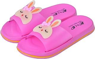 DolceTiger Chaussures Enfants Garçon Fille Chaussons Été/Hiver Sandales Plates Plates D'IntéRieur pour Enfants Chaussures ...