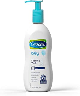Cetaphil Baby Soothing Wash, Paraben Free, Hypoallergenic, Colloidal Oatmeal, Dry Skin, 10 fl. oz
